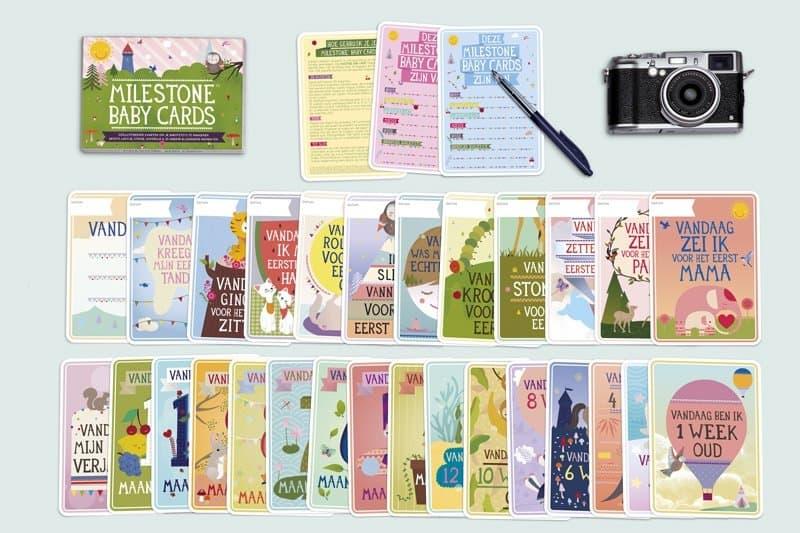milestonecards_alle_kaarten_kraamkado_un