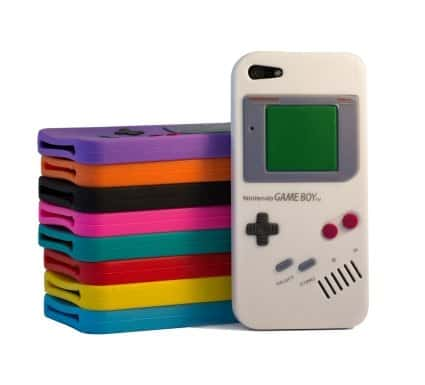 Gameboy case voor iPhone