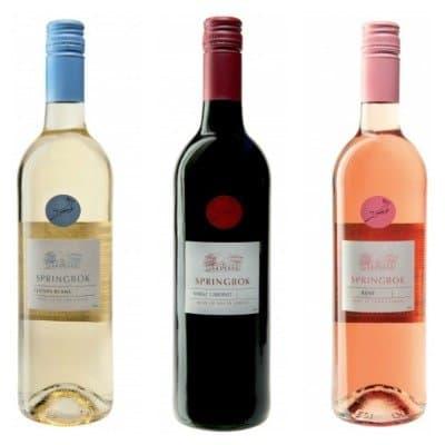 Wijn van de Kaap ★ 'Springbok' wijn uit Zuid-Afrika