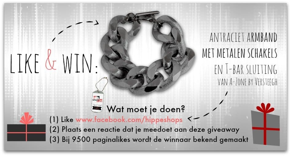 WIN: schakelarmband van A-Zone by Versteegh
