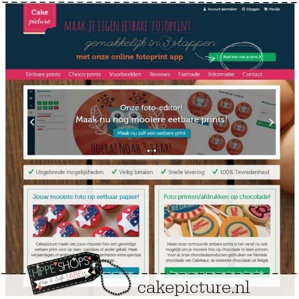 Cakepicture – maak je eigen eetbare fotoprint