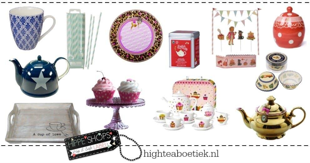 High Tea Boetiek | Alles voor een bijzonder leuke High Tea