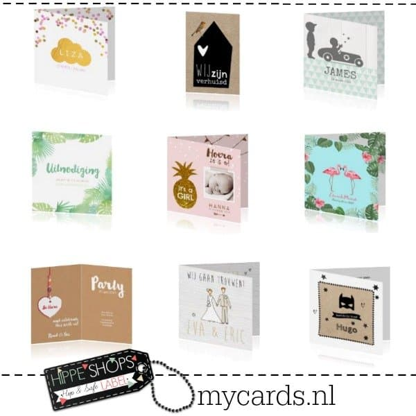 MyCards.nl | de mooiste geboortekaartjes en trouwkaarten