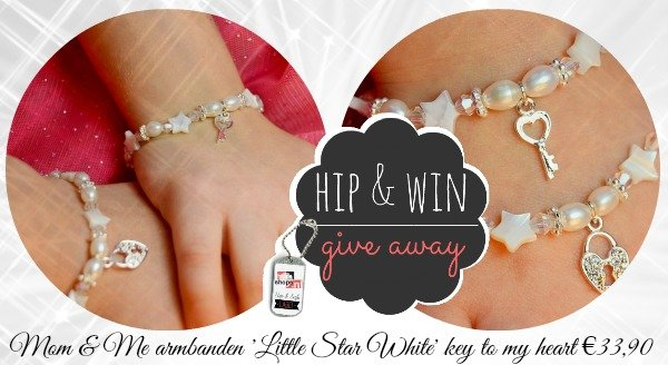 WIN: Mom & Me armbanden 'Little Star White' €33,90