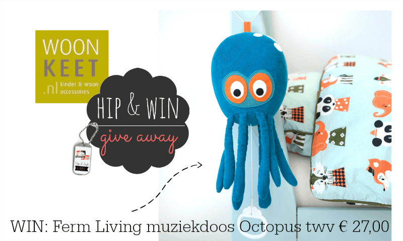woonkeet-fermliving-muziekdoos-octopus-giveaway-hippeshops-winactie