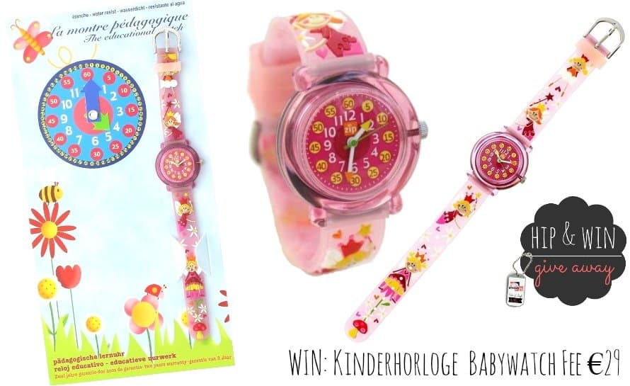 KIDS GIVE AWAY: Kinderhorloge Baby Watch 'Fee'