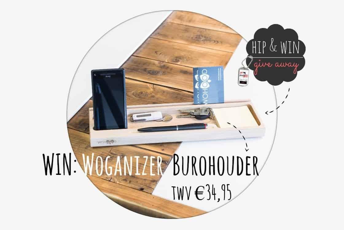 Woganizer Burohouder – opladen en opbergen ineen!