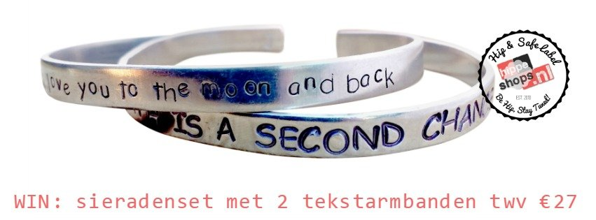 Daily Inspirations Give Away: tekstsieraden armbandenset