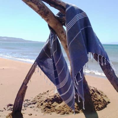Hippe hamamdoeken voor bad, sauna en strand