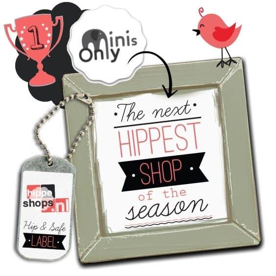MINIS ONLY is verkozen tot The Next Hippest Shop!