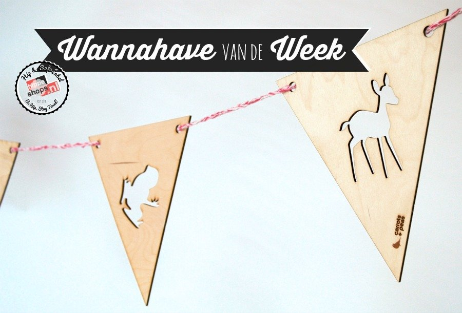 WANNAHAVE van de WEEK – Een houten slinger? Jawel! Wij vinden deze ...