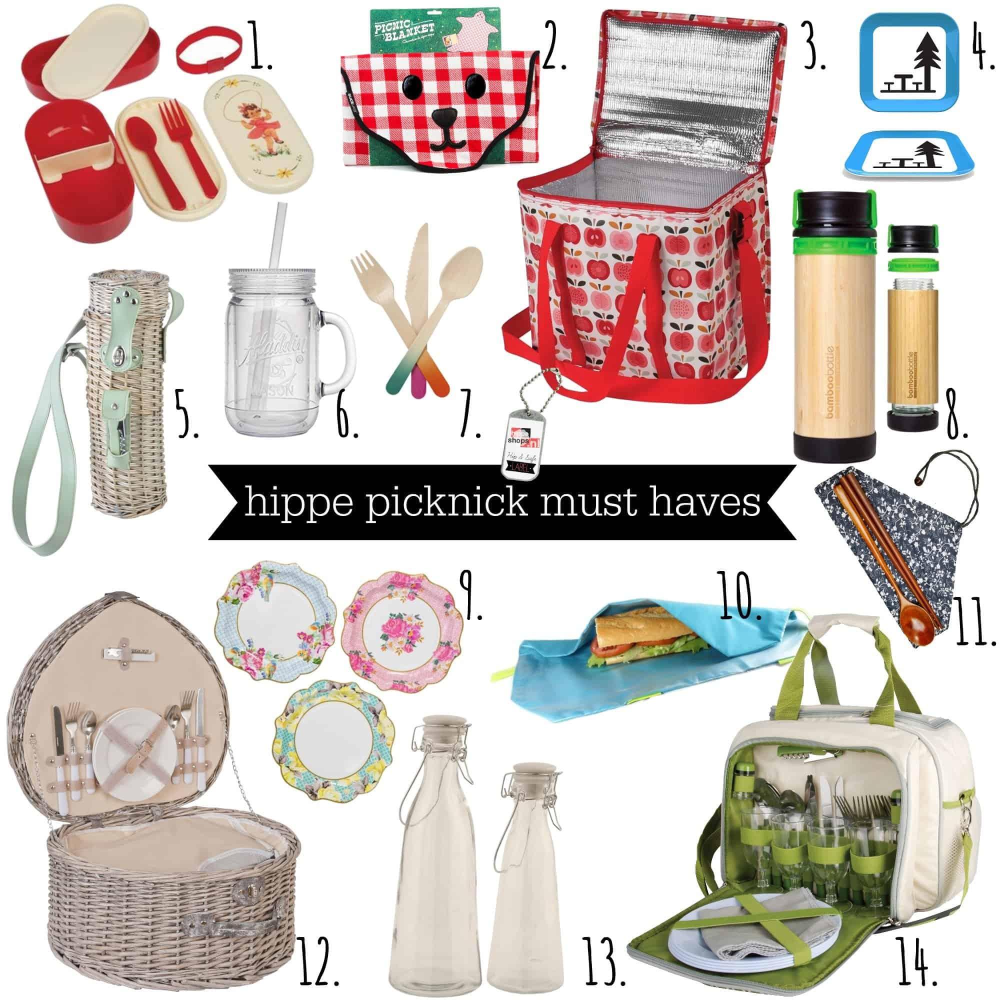 De leukste must haves voor een hippe picknick