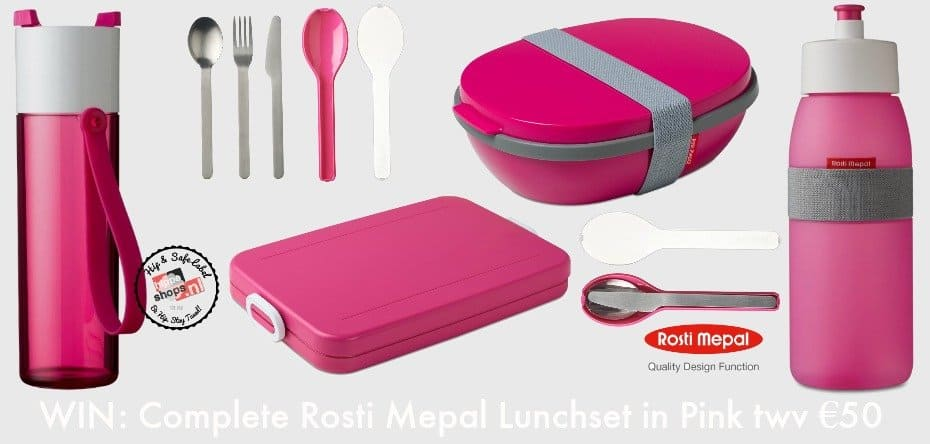 Rosti Mepal Complete Lunchset Pink