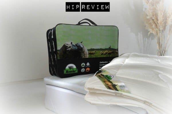 Review – gezond slapen onder 100% zuivere schapenwol