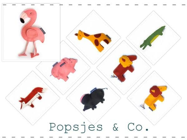 Popsjes-dieren hippeshops