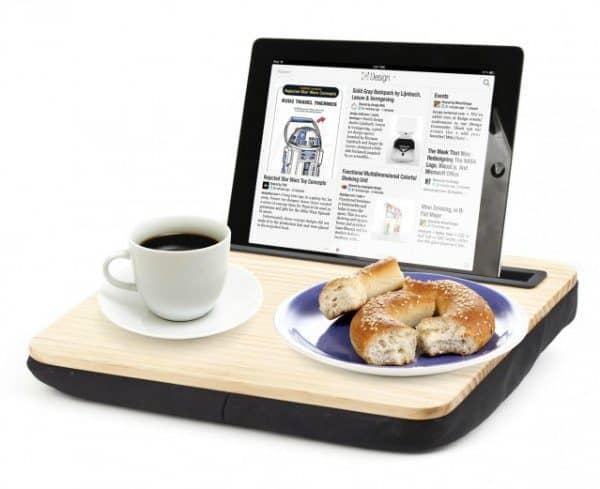 hoera-geslaagd-cadeau-tablet-houder-hout-