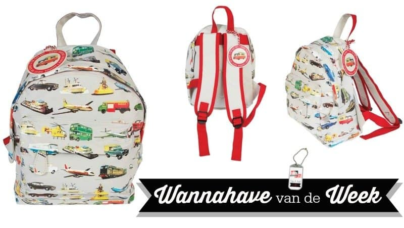 Rexinter rugzakje Vintage Transport – Wannahave van de Week