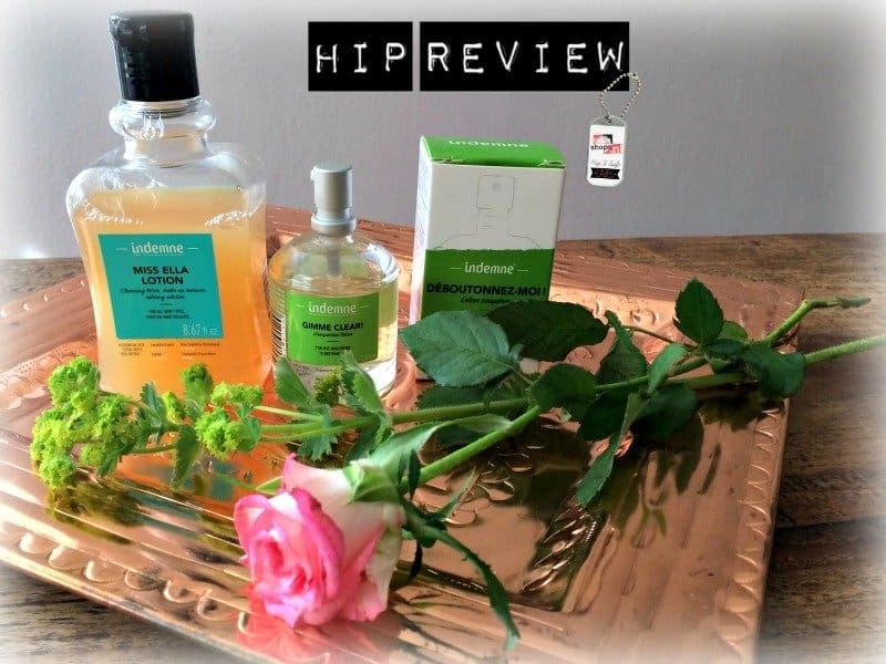 Gimme Clear & Miss Ella Lotion, by Indemne | beauty review