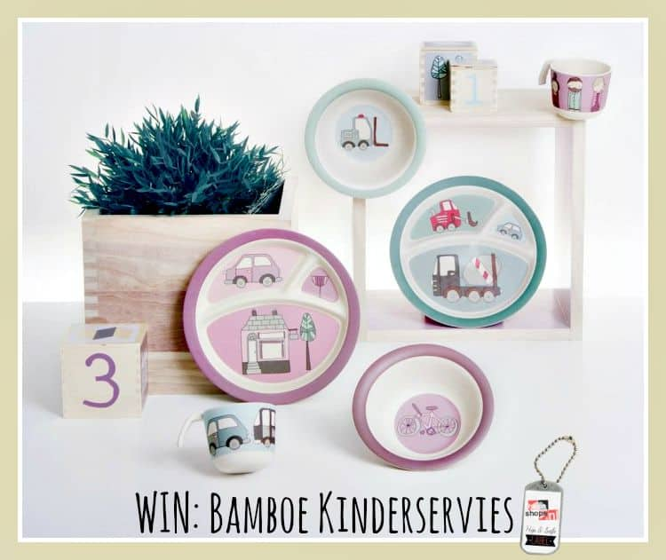 WIN: Bamboe Kinderservies twv €29,95