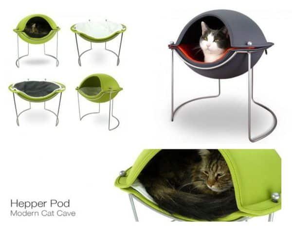 Design voor de hippe huiskat