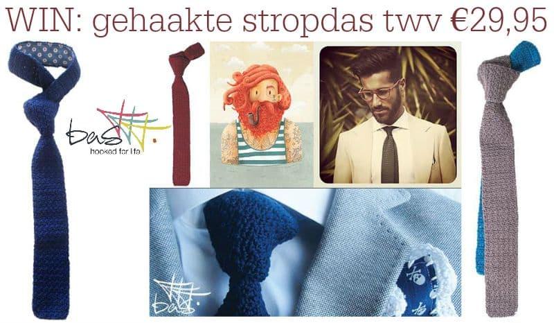 Basttt geeft weg: Hippe gehaakte stropdas twv €29,95