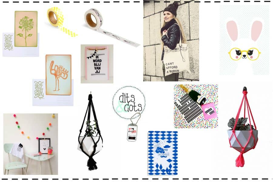 Dits & Dots: de shop voor woondeco, stationery en DIY