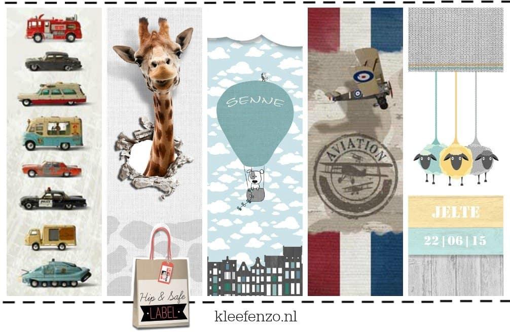 Kleefenzo – originele muurstickers voor kids