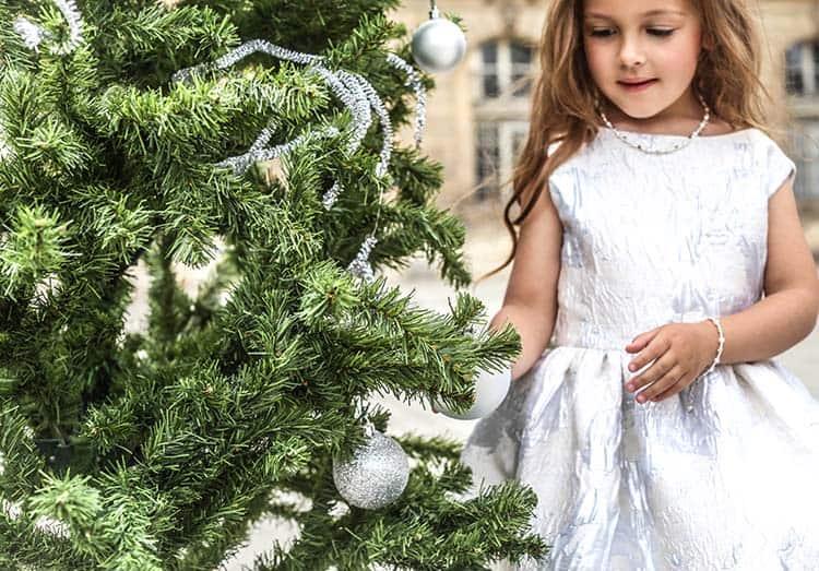 Kerstsferen bij LOVY luxe kindersieraden