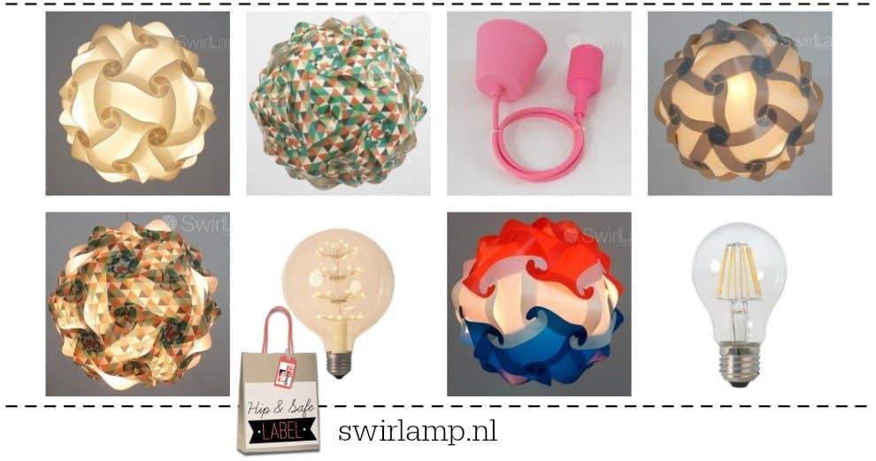 Swirlamp – de betaalbare designlamp