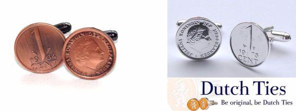 December cadeautip: manchetknopen van oude munten