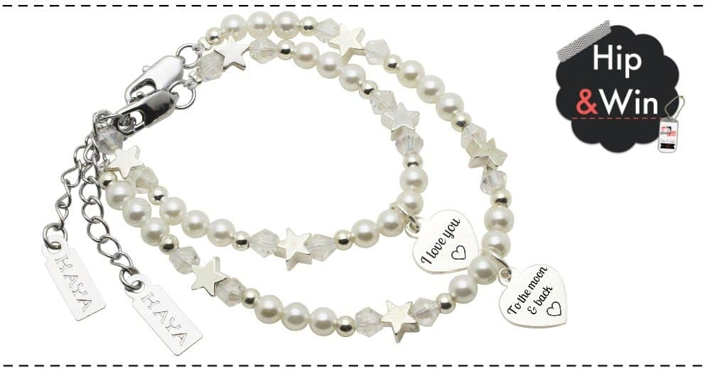 KAYA Sieraden X-Mas giveaway: Mom & me Star 'Love you to the moon & back'
