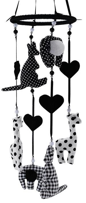 kiddycolors-mobiel-dieren-zwart-wit