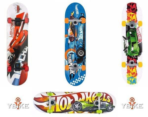 Hippe Hotwheels & Cars skateboards bij Ybike-winkel