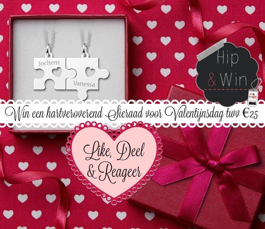 Win een hartveroverend sieraad voor Valentijnsdag ♥