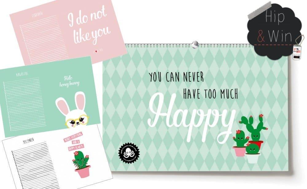 Studio Inktvis giveaway: verjaardagskalender + HIP postkaarten