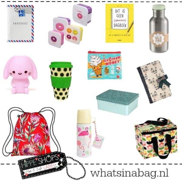 What's in a Bag – wat zit er in jouw tas?