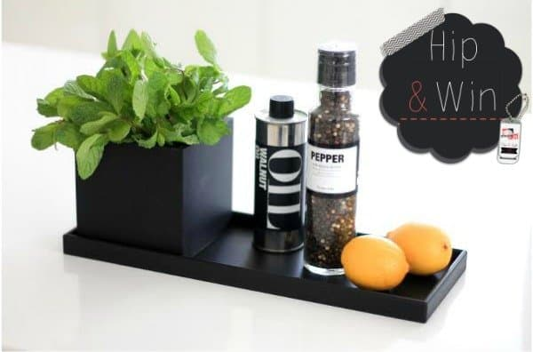 WIN: 2-delige Sej Design set met tray & cube twv €33,90