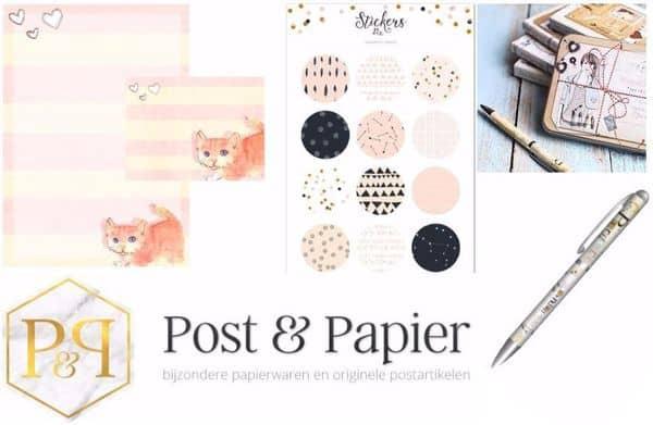 Post & Papier: voor de leukste brievenbuspost