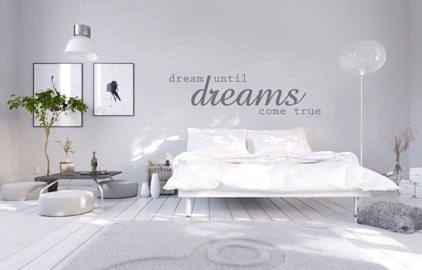 Geef je slaapkamer een hippe touch met Muurstickerboetiek