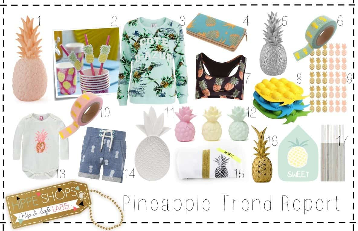 Let's go crazy with the pineapple shopping trend!