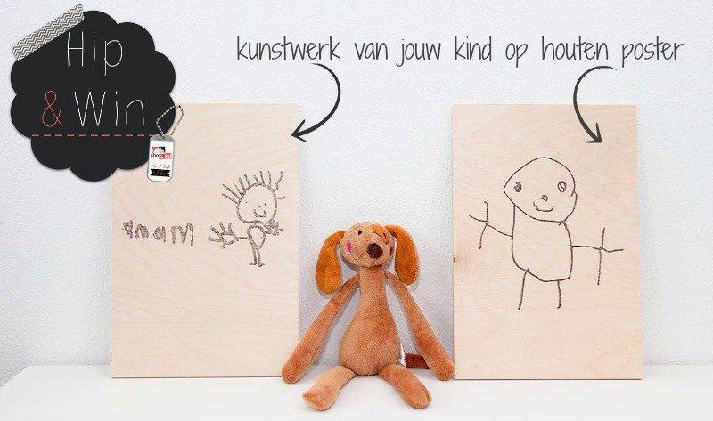 StudioMPeet geeft weg: jouw unieke houten A4 poster (twv €24,95)