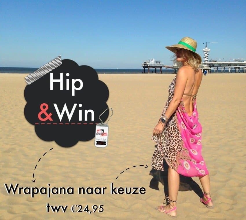 Winnen! Wrapajanas, hip en handig strandjurkje in Ibiza stijl