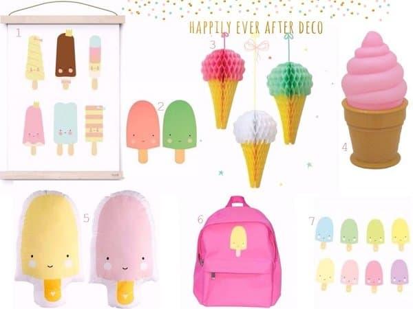 Vier de zomer met ijsjes