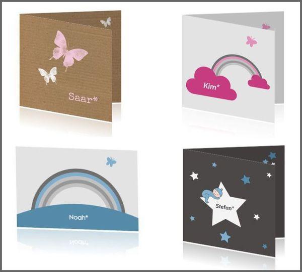Boefjespost – geboorte- rouwkaartjes voor baby's