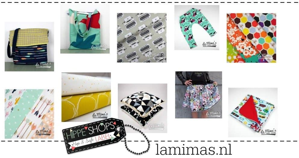 La Mima's – Hippe webwinkel voor stoffen en creaties