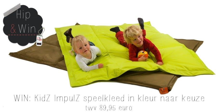 WIN: KidZ ImpulZ groot speelkleed twv €89,95