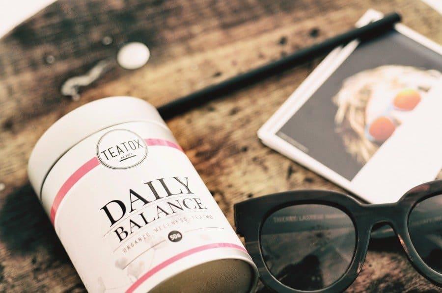 Teatox 100% natuurlijke thee voor je dagelijkse portie balans