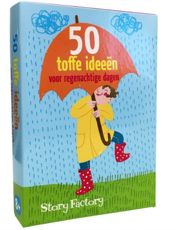 50 toffe ideeën voor regenachtige dagen | Goodiebox Deluxe 2016