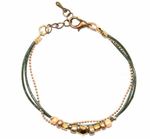 bracewatch-armbandje-star-dark-green