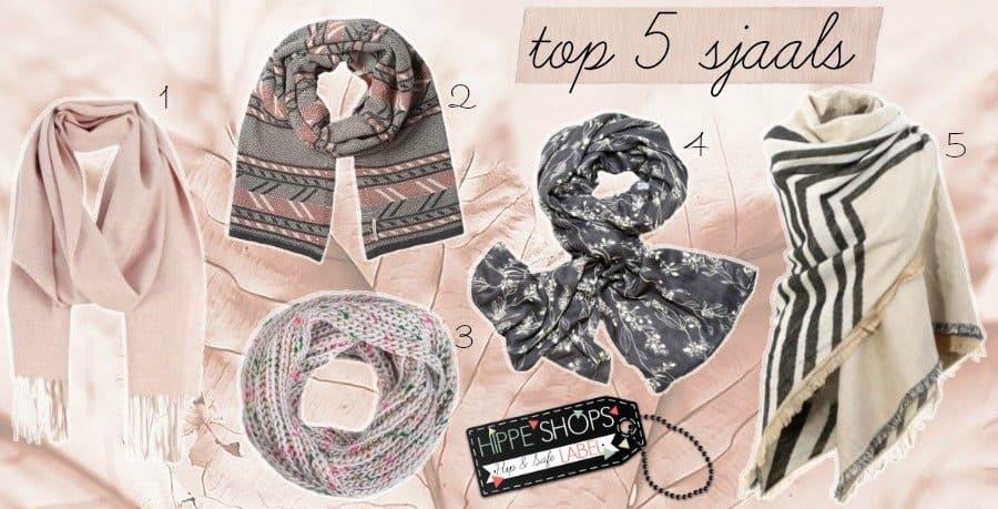 Top 5 hippe herfst sjaals